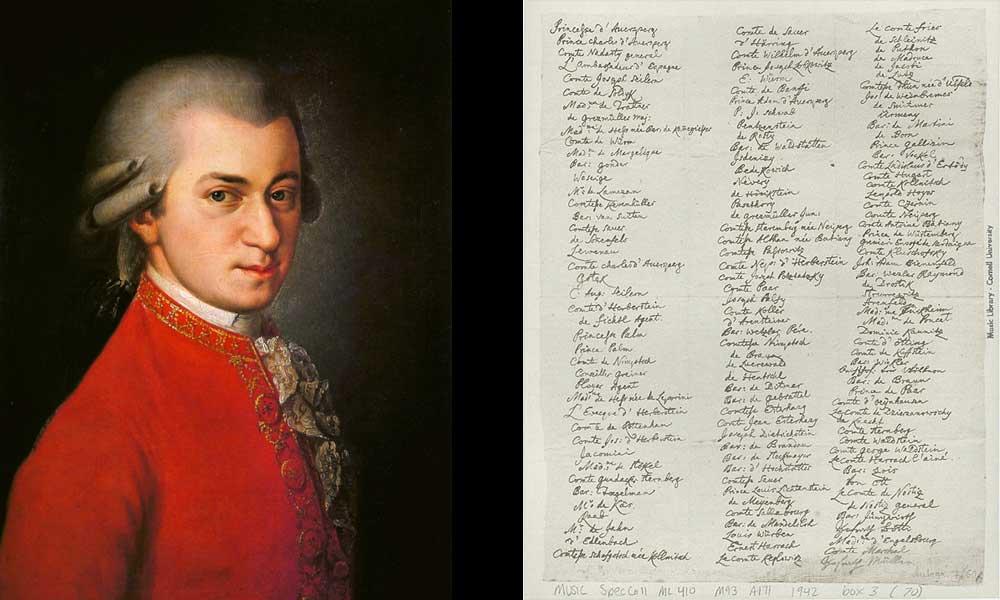 Crowdfunding del concierto de Mozart